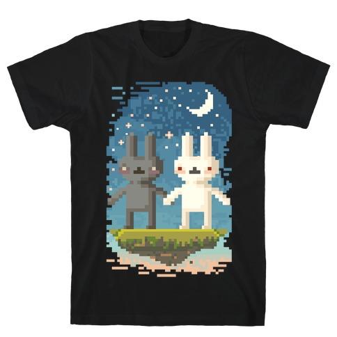 Bunnies in Moonlight T-Shirt