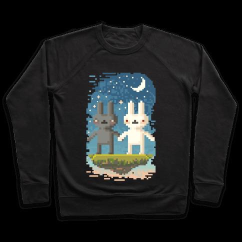 Bunnies in Moonlight Pullover