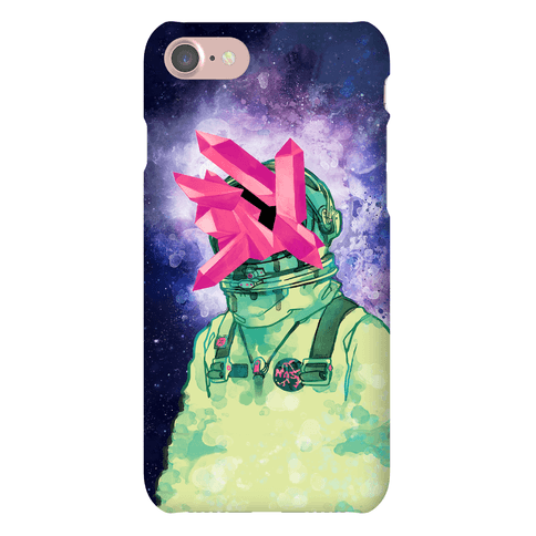 Crystal Astronaut Phone Case