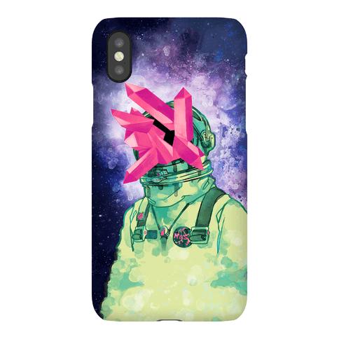Crystal Astronaut Phone Case