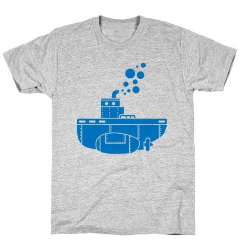Nautical Submarine Mens/Unisex T-Shirt