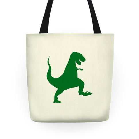 Green T-Rex Tote