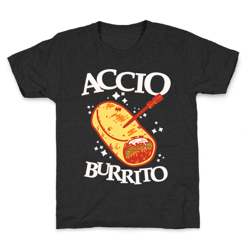 Accio Burrito Kids T-Shirt