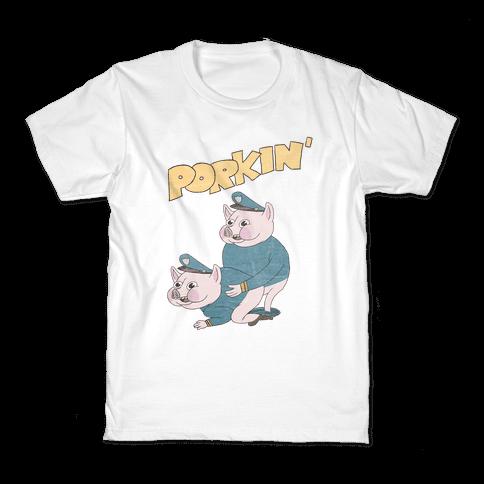 PORKIN' (VINTAGE) Kids T-Shirt
