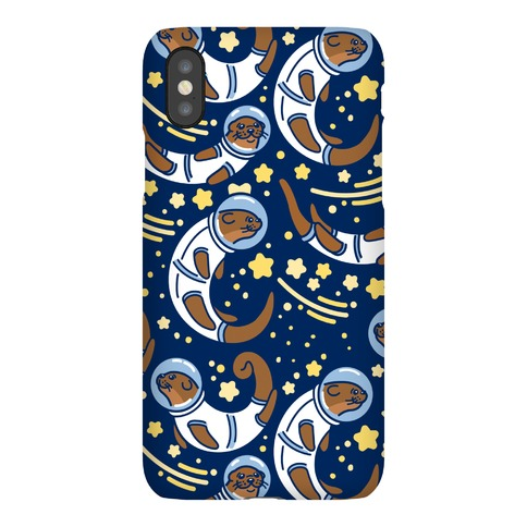 Otters In Space Phone Case