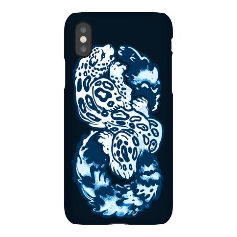 Infinity Snow Leopard Phone Case
