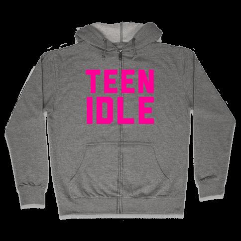 Teen Idle Zip Hoodie