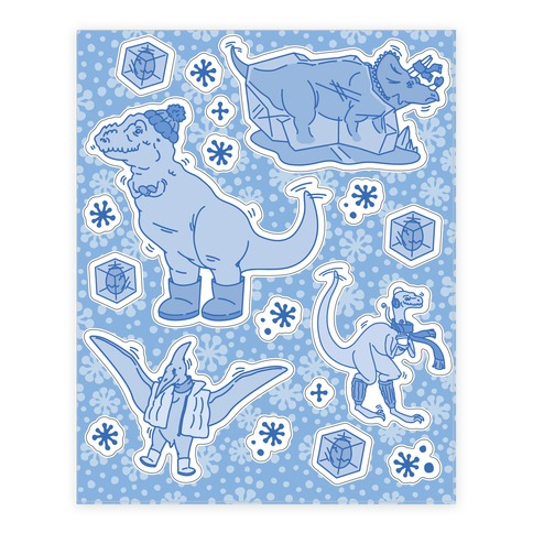 The Ice Age  Sticker/Decal Sheet