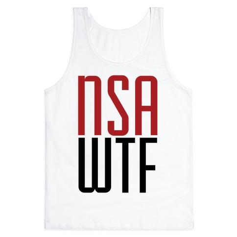 NSA WTF Tank Top
