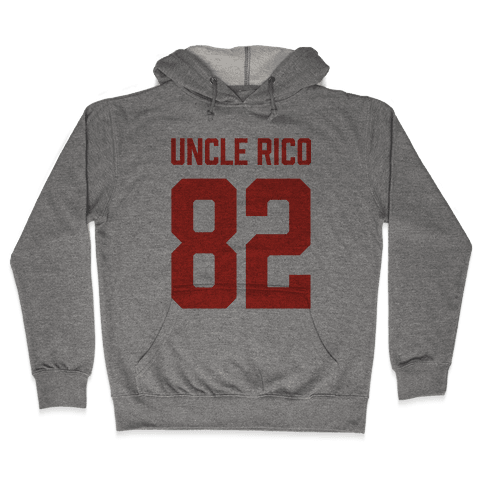 Uncle Rico Jersey Hooded Sweatshirt