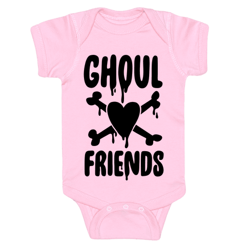 Ghoul Friends Baby Onesy