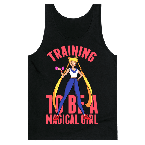 Training To Be A Magical Girl Tank Top