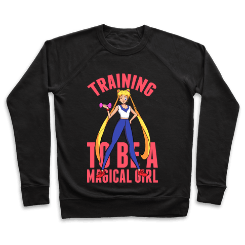 Training To Be A Magical Girl Pullover