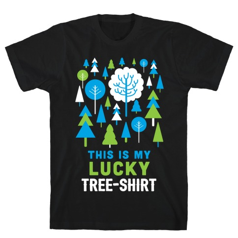 This Is My Lucky Tree-Shirt T-Shirt