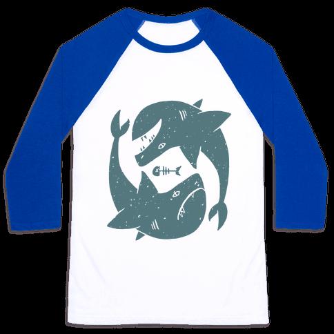 Infinite Sharks Baseball Tee