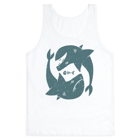 Infinite Sharks Tank Top