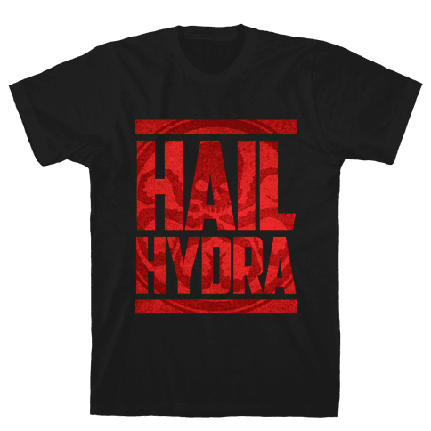 Hail Hydra (grunge) Mens T-Shirt