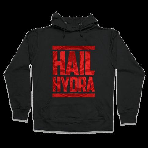 Hail Hydra (grunge) Hooded Sweatshirt