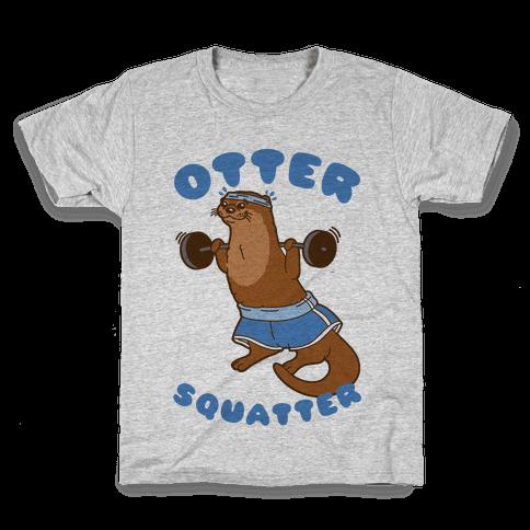 Otter Squatter Kids T-Shirt