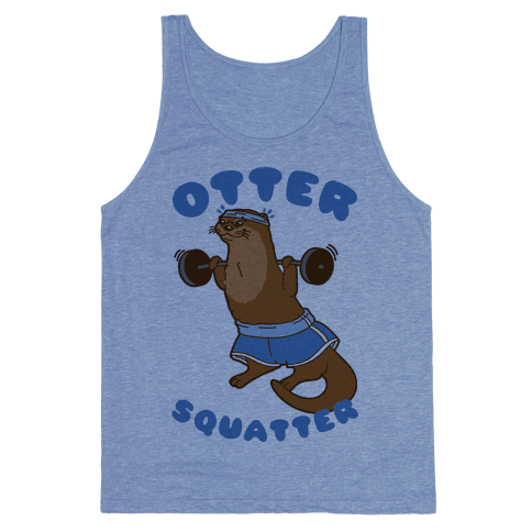Otter Squatter Tank Top