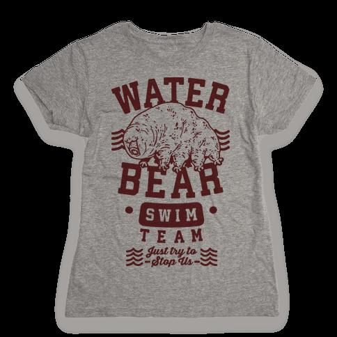 Waterbear Swim Team Womens T-Shirt