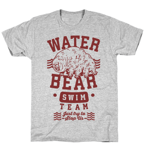 Waterbear Swim Team Mens T-Shirt