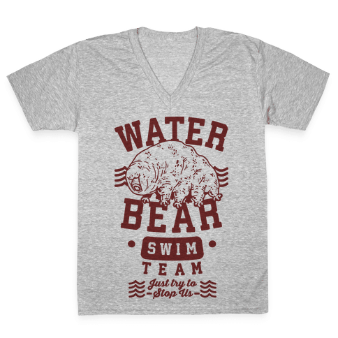 Waterbear Swim Team V-Neck Tee Shirt