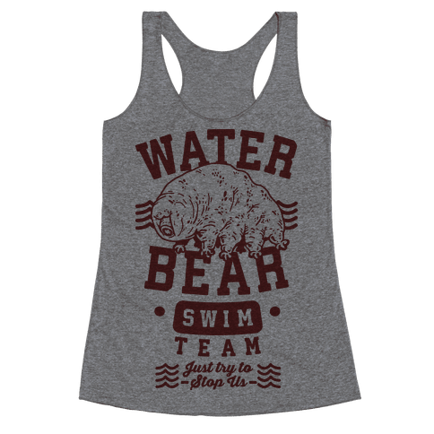 Waterbear Swim Team Racerback Tank Top