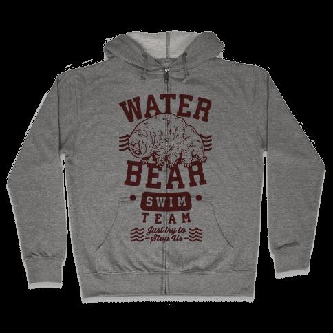 Waterbear Swim Team Zip Hoodie