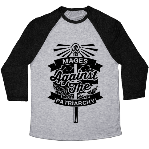 Mages Against The Patriarchy Baseball Tee