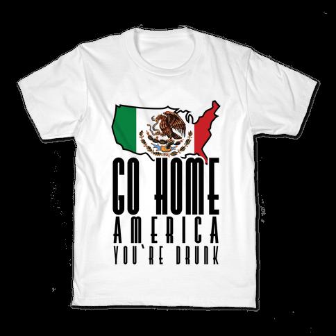 Drunk America Kids T-Shirt