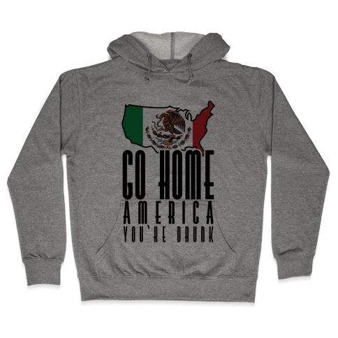 Drunk America Hooded Sweatshirt
