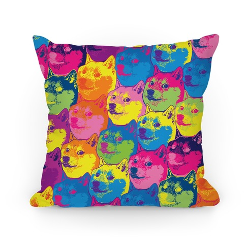 Pop Art Doge Pillow