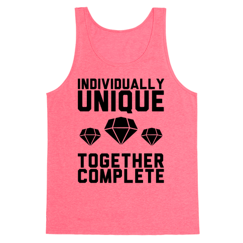 Individually Unique Together Complete Tank Top