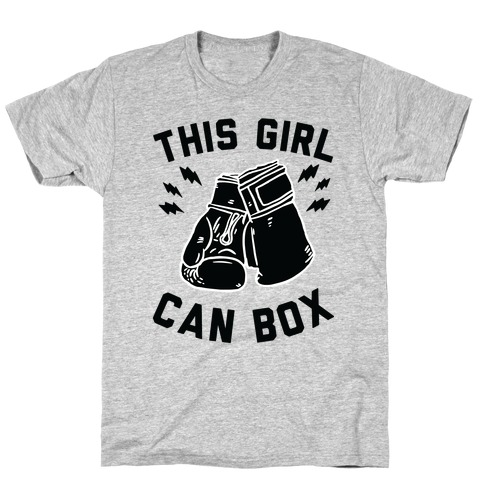 This Girl Can Box T-Shirt