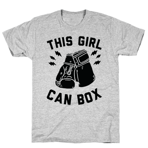This Girl Can Box Mens T-Shirt