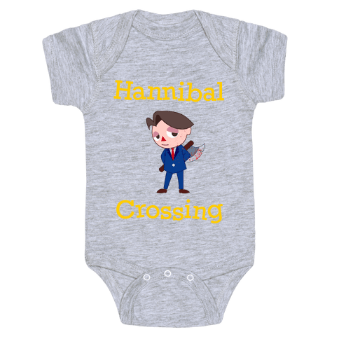 Hannibal Crossing Baby Onesy
