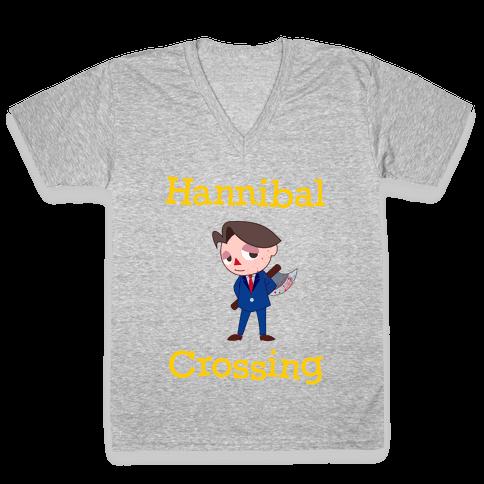 Hannibal Crossing V-Neck Tee Shirt