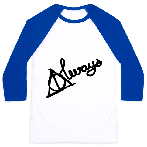 Hallows Always Baseball Tee