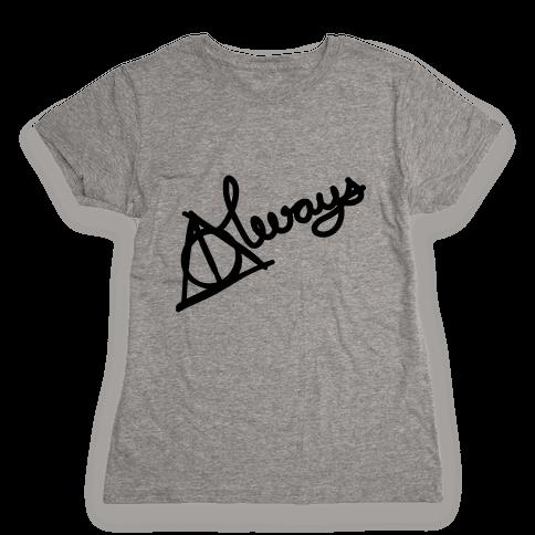 Hallows Always Womens T-Shirt