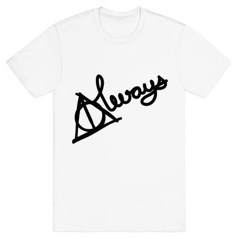 Hallows Always Mens T-Shirt