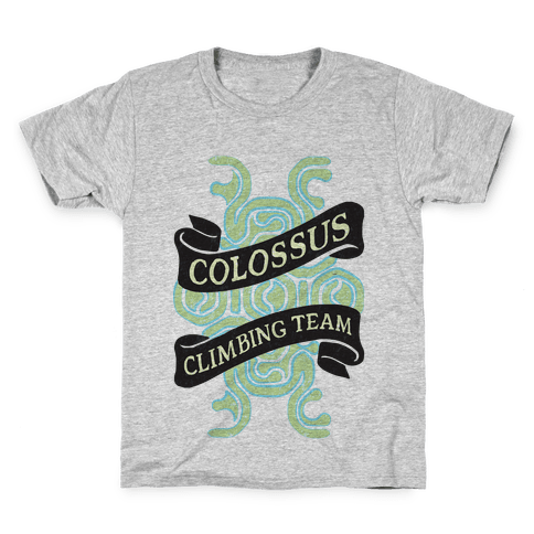 Colossus Climbing Team Kids T-Shirt