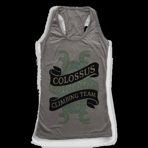 Colossus Climbing Team Racerback Tank Top