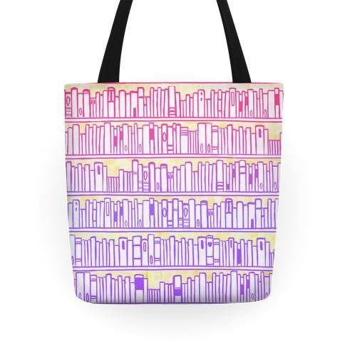 Bookshelf Pattern Tote