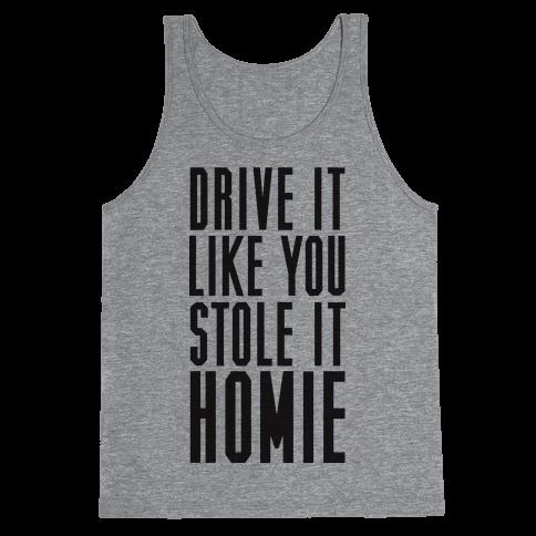 Drive It Tank Top