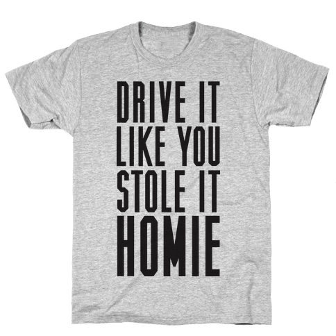 Drive It Mens T-Shirt