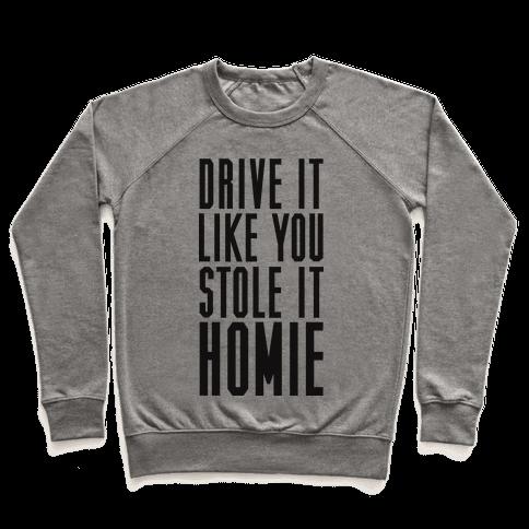 Drive It Pullover