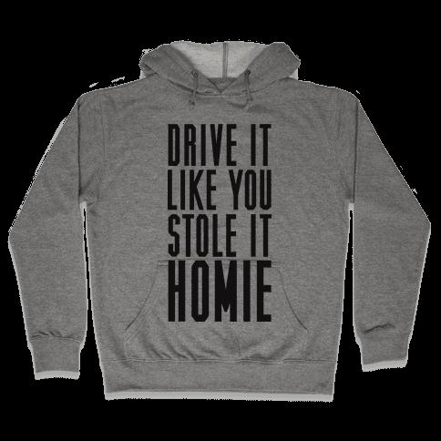 Drive It Hooded Sweatshirt