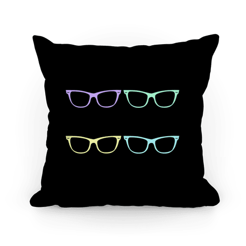 Large Glasses Pillow