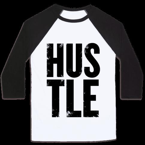 Hustle Baseball Tee
